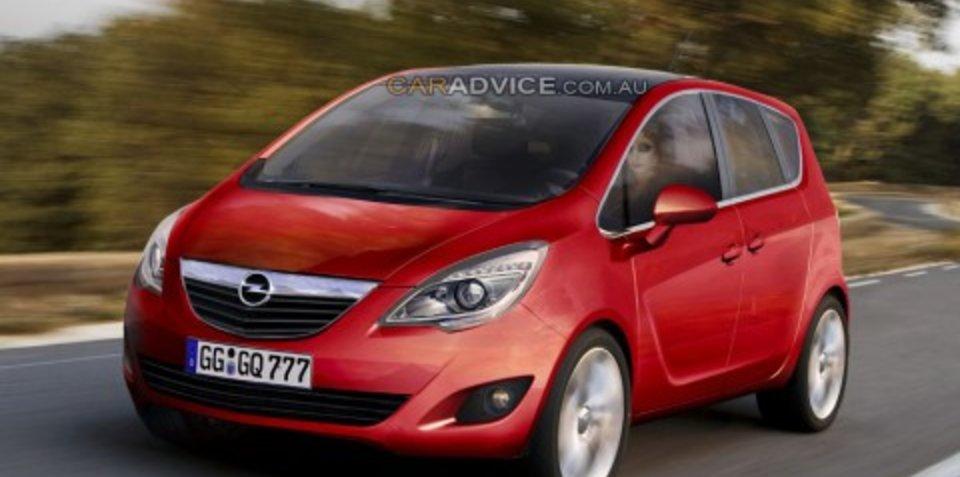 2009 Opel Meriva spy shots and CGI