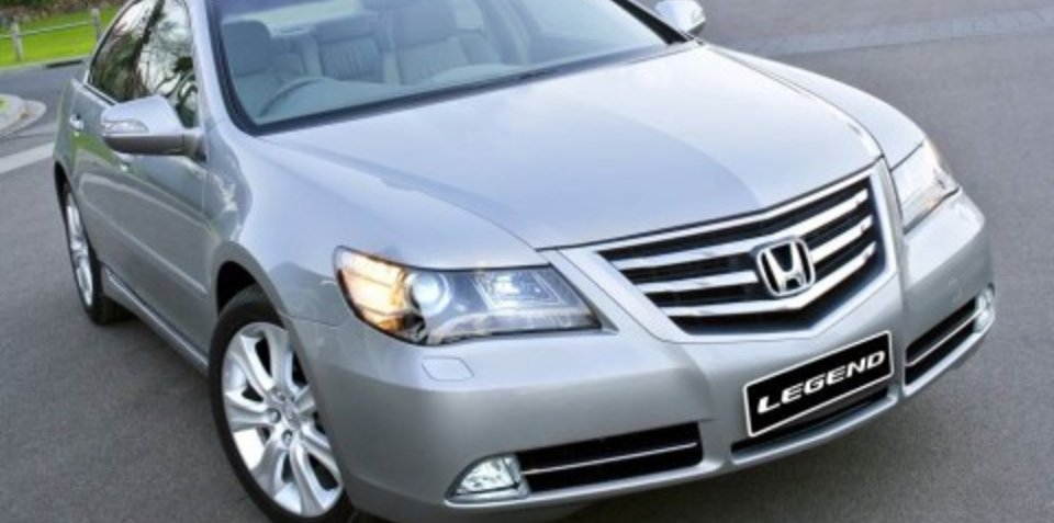 2009 Honda Legend specifications