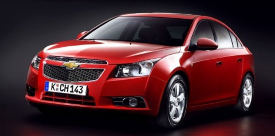 2009 Chevrolet Cruze first official images