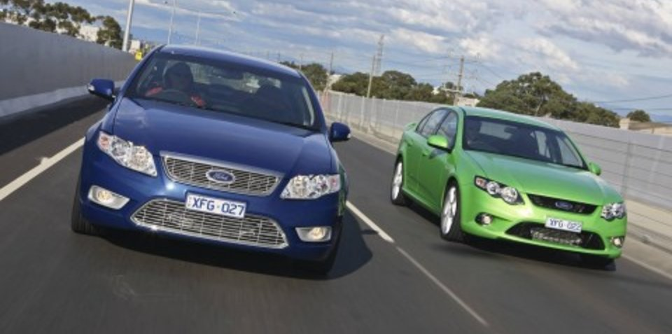 Ford Falcon to go front-wheel-drive?