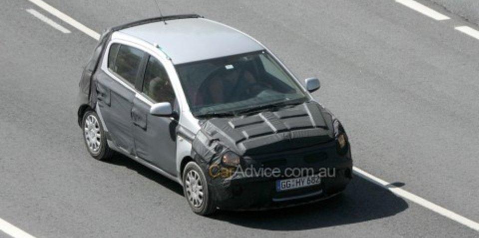 Spied: 2009 Hyundai i20