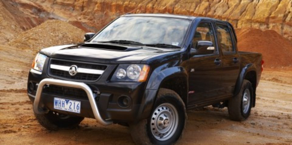 2008 Holden Colorado First Steer