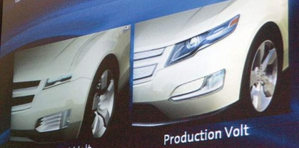 GM to show production ready Volt