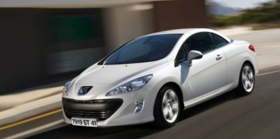Peugeot 308 CC coming to Sydney Motor Show