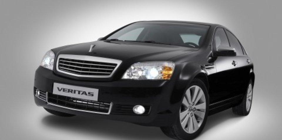 Holden exports to Korea GM-Daewoo Veritas