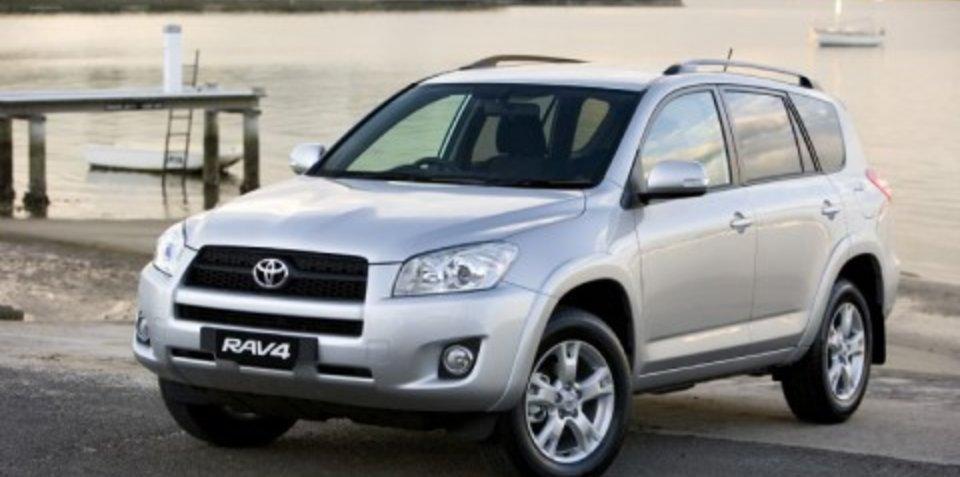 2009 Toyota RAV4 upgrades