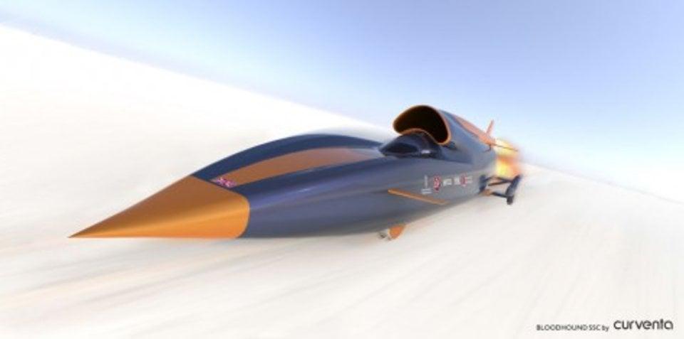 World's fastest car Bloodhound SSC