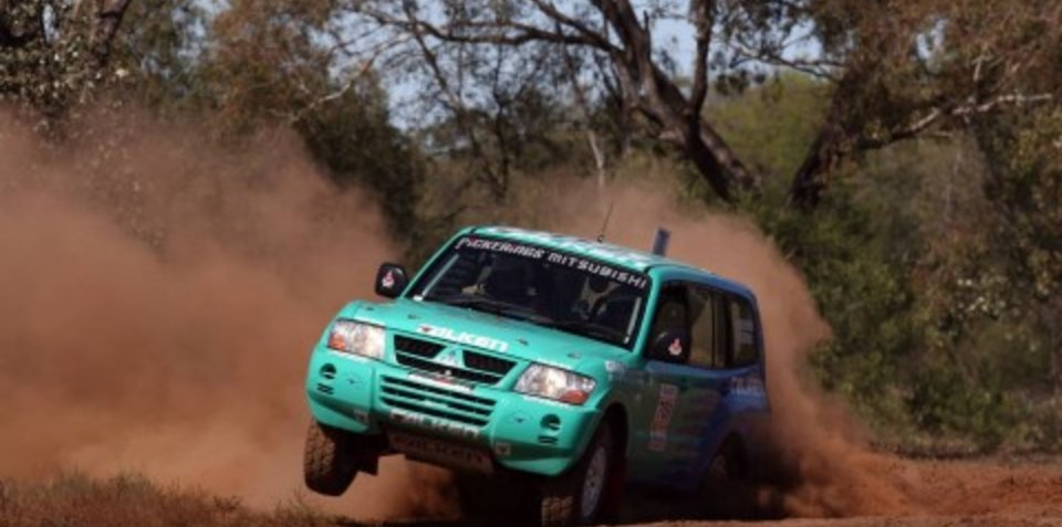 Mitsubishi wins eighth Australian Off-Road title