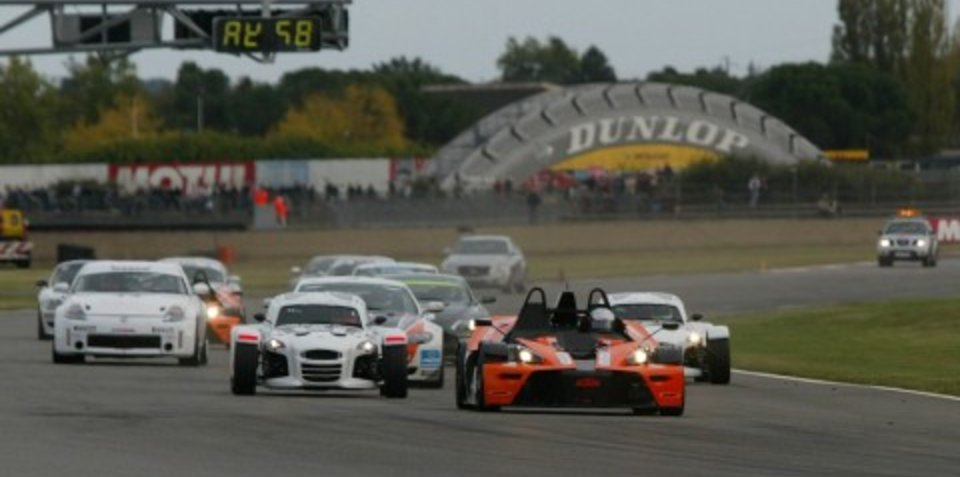 KTM X-Bow wins inaugural race