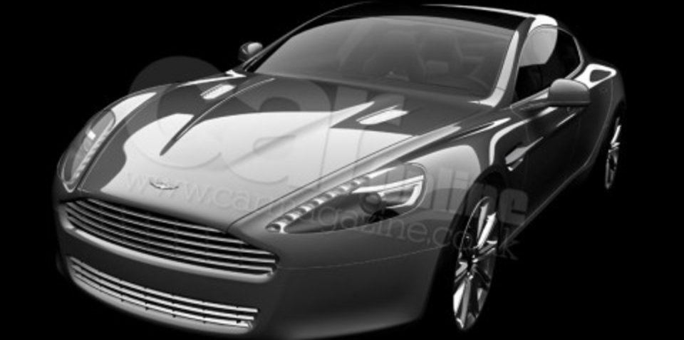 2009 Aston Martin Rapide - First official image