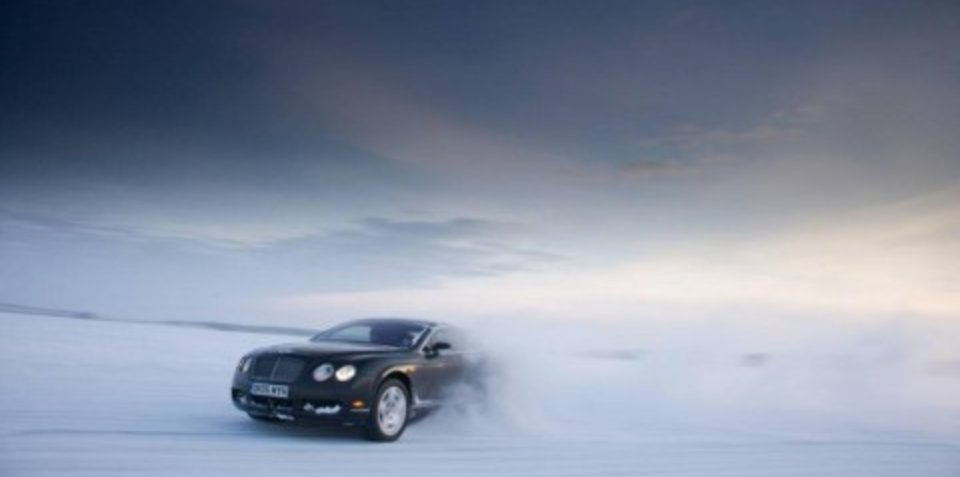 Bentley 'Power on Ice' driving experience