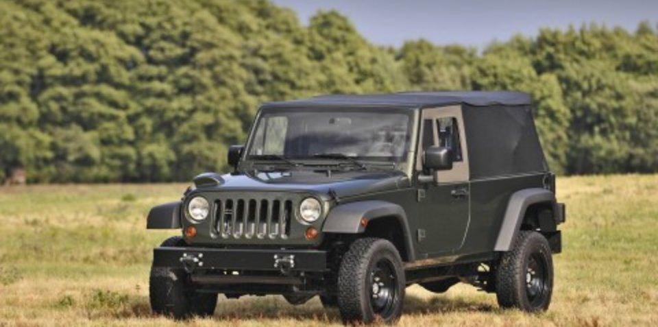 Jeep J8 production under way