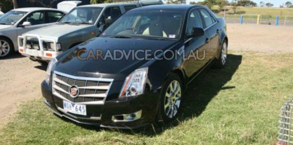 Cadillac CTS clocking kilometres in Australia