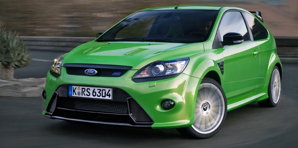 2009 Ford Focus RS in detail