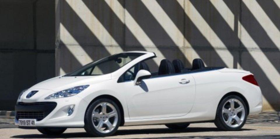2009 Peugeot 207 & 308 CC set for Melbourne release