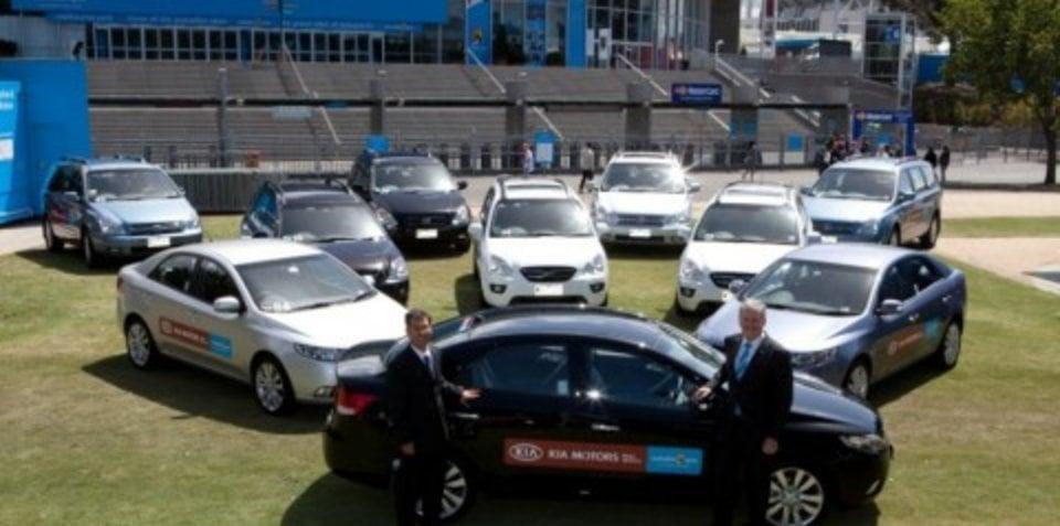 Kia sponsors Australian Open until 2013