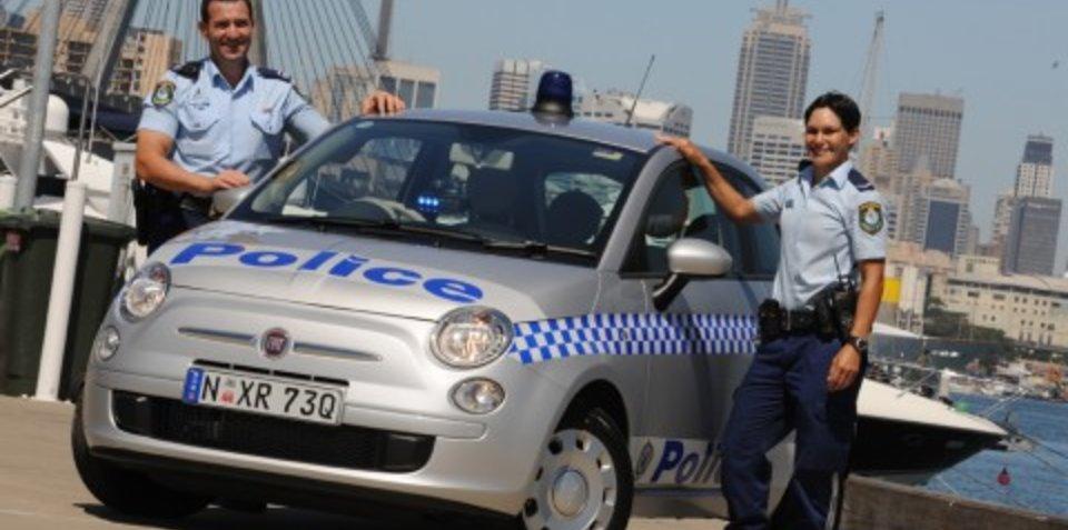 Fiat 500 latest recruit to NSW Police