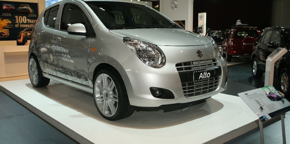 2009 Suzuki Alto at MIMS