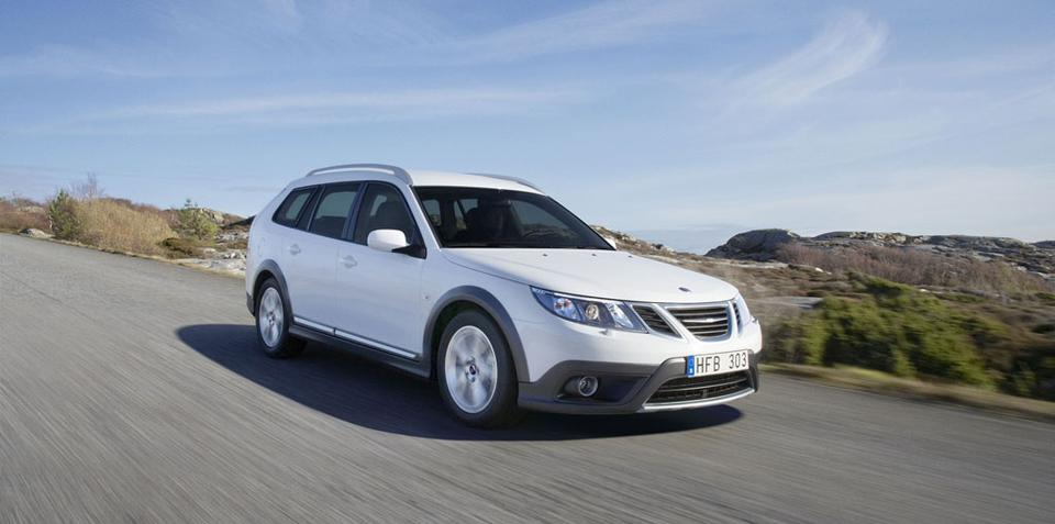 2009 Saab 9-3X Geneva preview