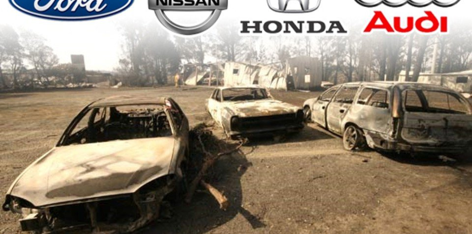 Motoring industry digs deep for bush fire appeal