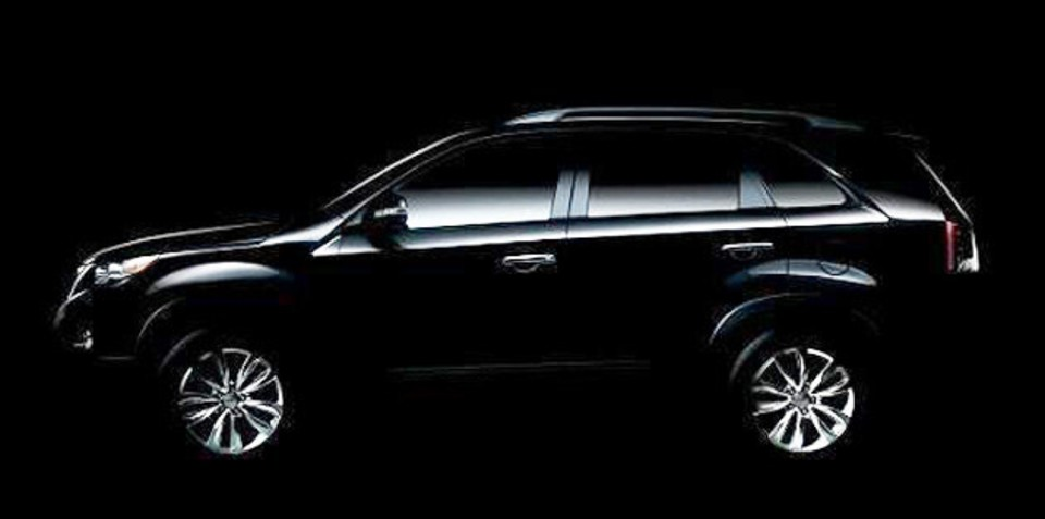 2010 Kia Sorento sneak peak
