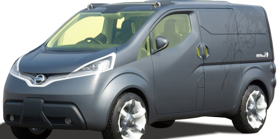 Nissan to unveil NV200 at Geneva