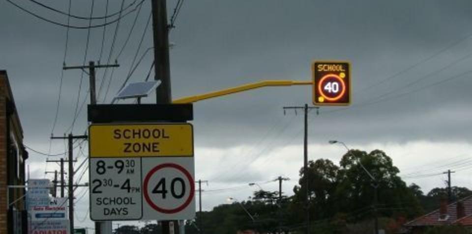 School's back - slow down