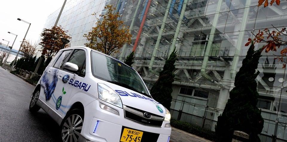 Subaru Stella Electric Car on sale in Japan