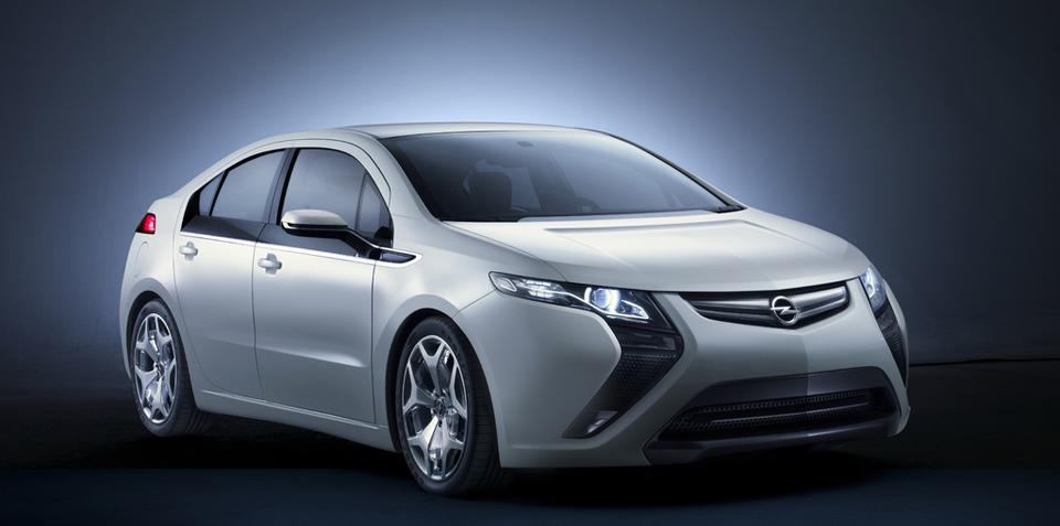 Opel Ampera official gallery released
