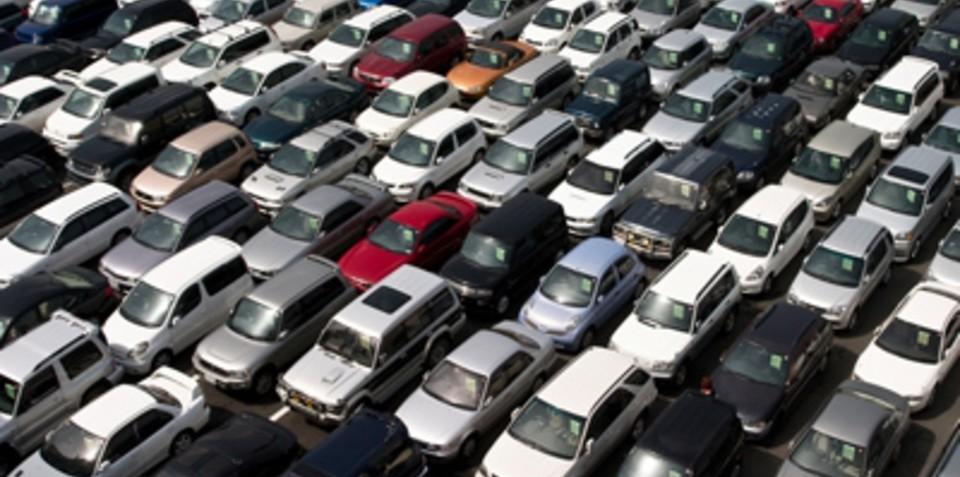 Australian fleet sales slowing