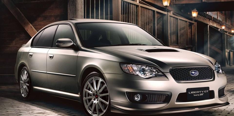 Limited Edition Subaru Liberty GT spec.B R