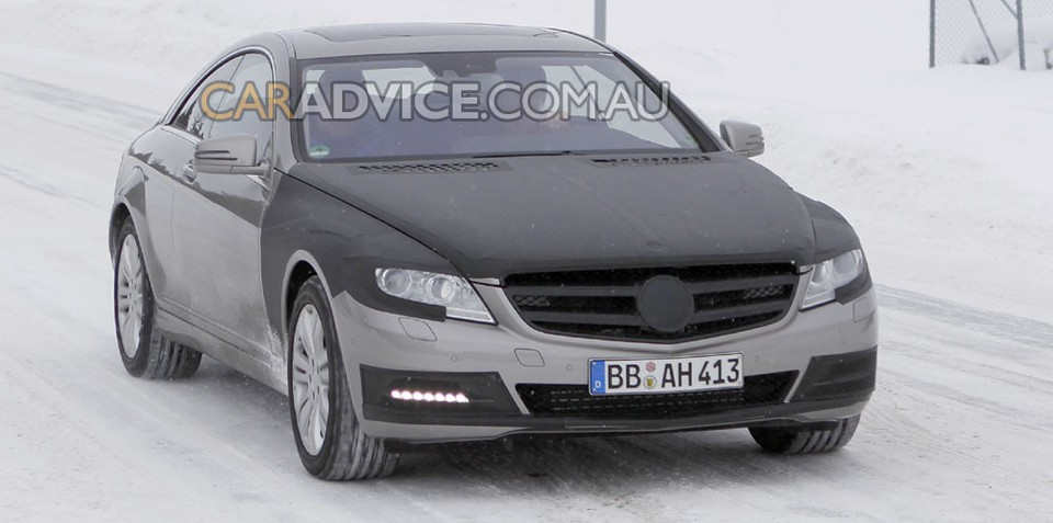 2010 Mercedes-Benz S-Class Coupe spied