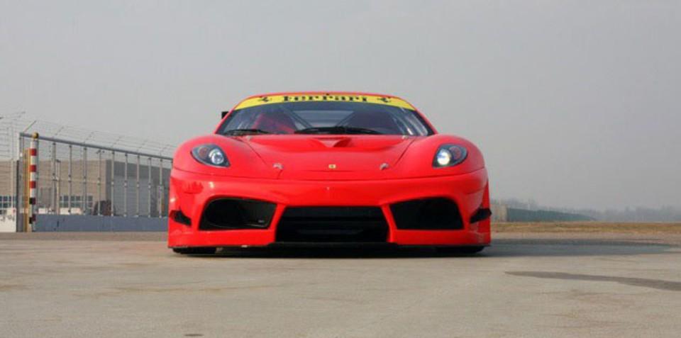 Ferrari 430 Scuderia prepped for FIA GT3