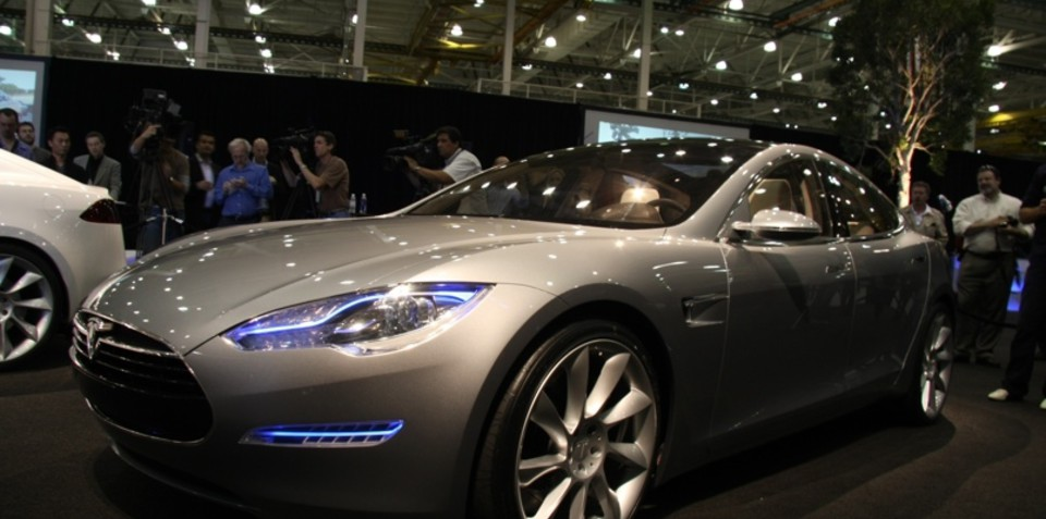 Tesla Model S Unveiled