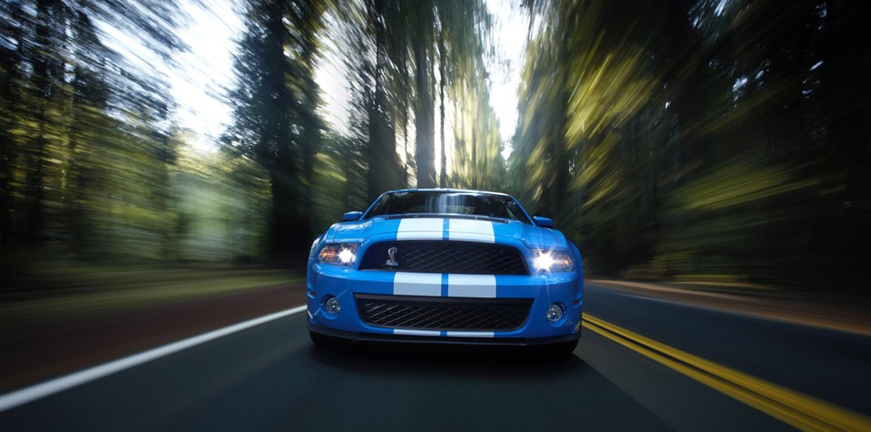 2010 Ford Shelby GT500 & GT500KR released
