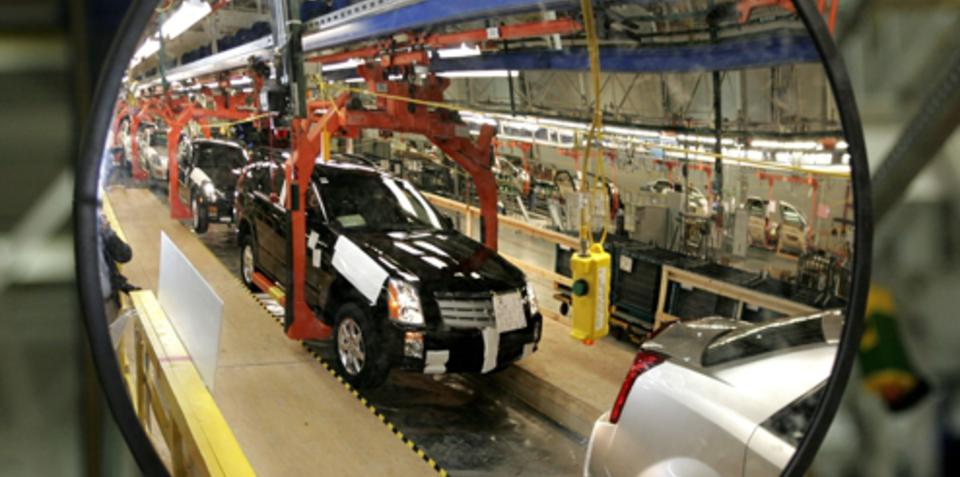 GM will idle 13 plants for up to 9 weeks