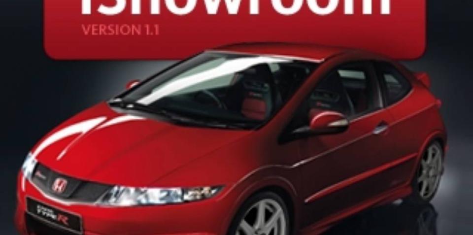 Honda updates iShowroom