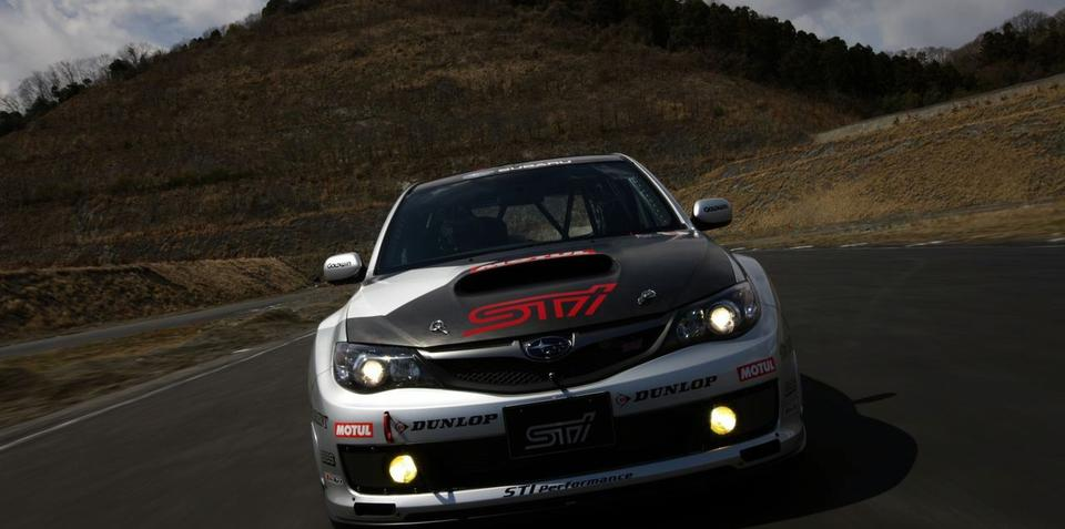 STI competing at Nürburgring 24-hour race