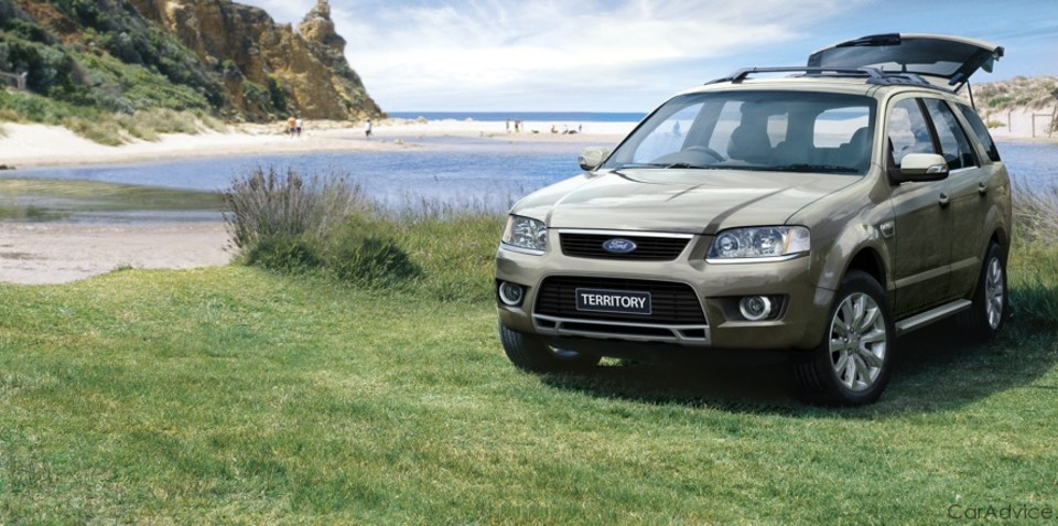 2009 Ford Territory hits the market