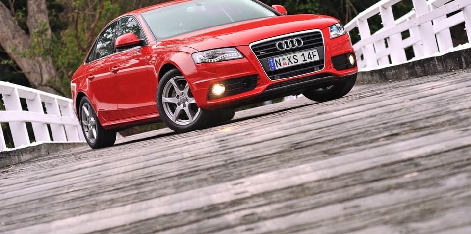 2009 Audi A4 gets new TFSI engine
