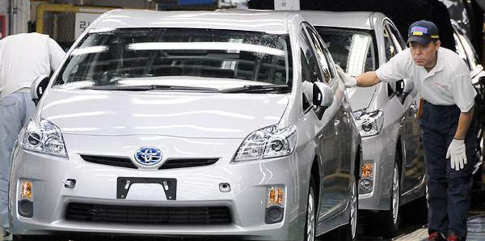 Toyota Prius US build plans delayed