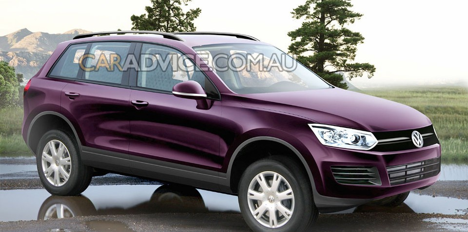 2011 Volkswagen Touareg rendered