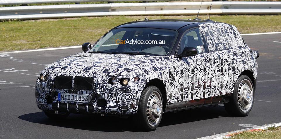 2011 BMW 1 Series - spy pics