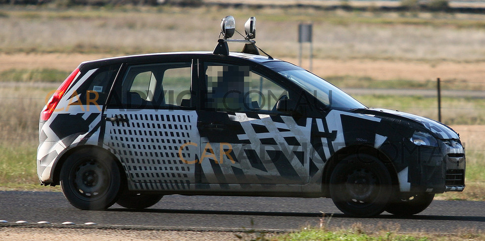 Spy pics - Ford Australia tests Verve based small car