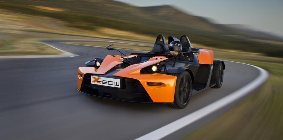 KTM X-Bow receives power upgrade kit