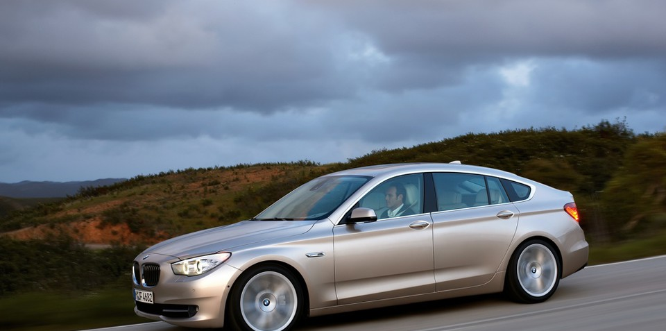 BMW 5 Series GT - Mark Drives the 5-series GT