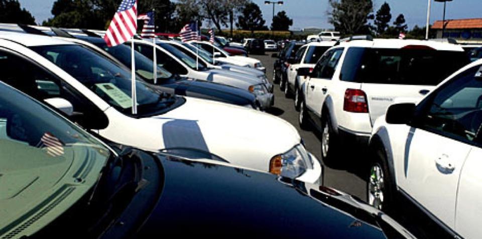 US car sales show positive trend