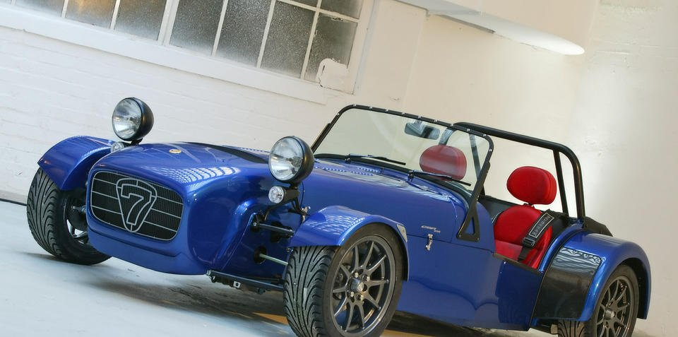 Caterham production on the rise