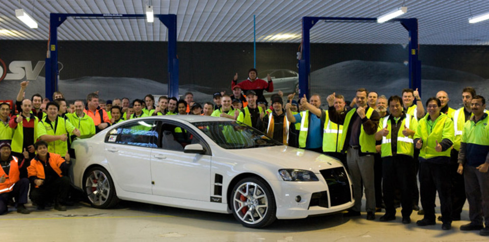 Last HSV W427 rolls out of Clayton