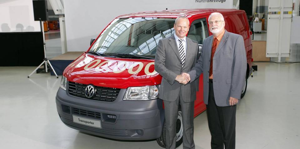 VW Commercial builds millionth T5